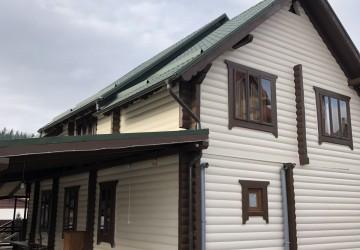 9 Полняица Буковель Деревянный двухэтажный дом с камином на 5 комнат на 10 мест 1.5 км ГК