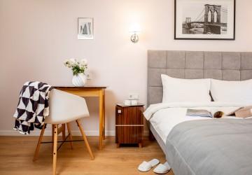 Номер Улучшенный с двуспальной кроватью и видом на город