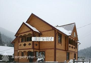 Татаров 8 дом на 16 человек в горах возле реки снять дом в частном секторе Карпаты