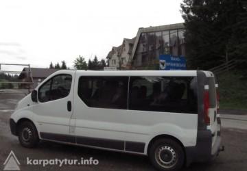 Трансфер:Ивано-Франковск - Буковель(Ясиня) микроавтобусом (8 - 16 мест)